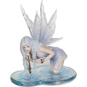 Fishing for Riddles Fairy Figurine
