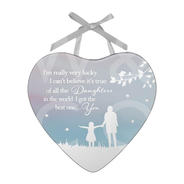 Reflections of The Heart Plaque - Daughter