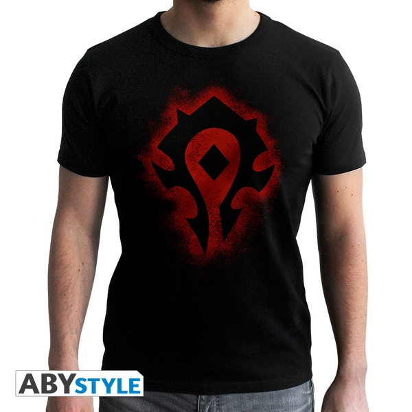 World Of Warcraft - Horde - Men's X-Small T-Shirt - Black