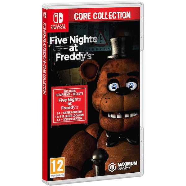 Five Nights at Freddy's Core Collection Nintendo Switch Game