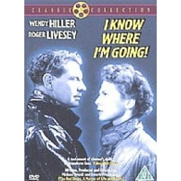 I Know Where I'm Going DVD