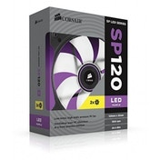 CORSAIR AIR SERIES SP120 TWIN PACK PURPLE LED HIGH STATIC PRESSURE FAN