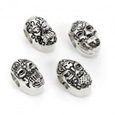 Death Eater Mask Charm Bead Set