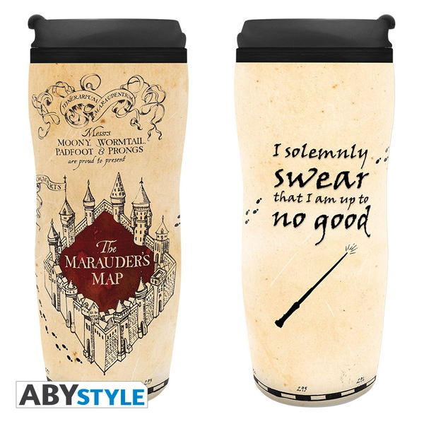 Harry Potter - Travel Mug Marauder's Map Travel Mug
