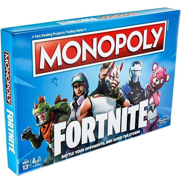 Ex-Display Fortnite Monopoly Board Game Used - Like New - Image 1