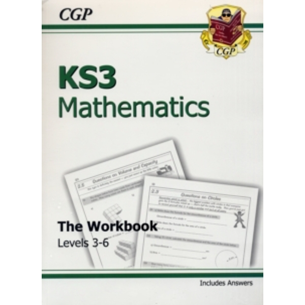 KS3 Maths Workbook (with Answers) - Foundation by CGP Books (Paperback, 1999)