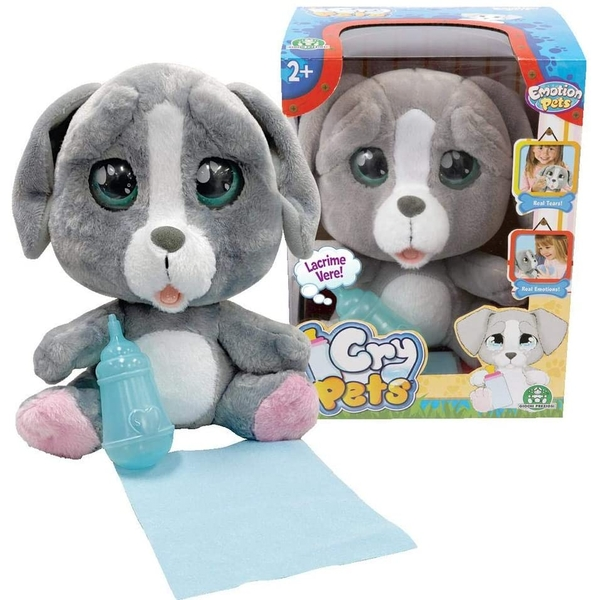 Cry Pets Single Puppy Plush