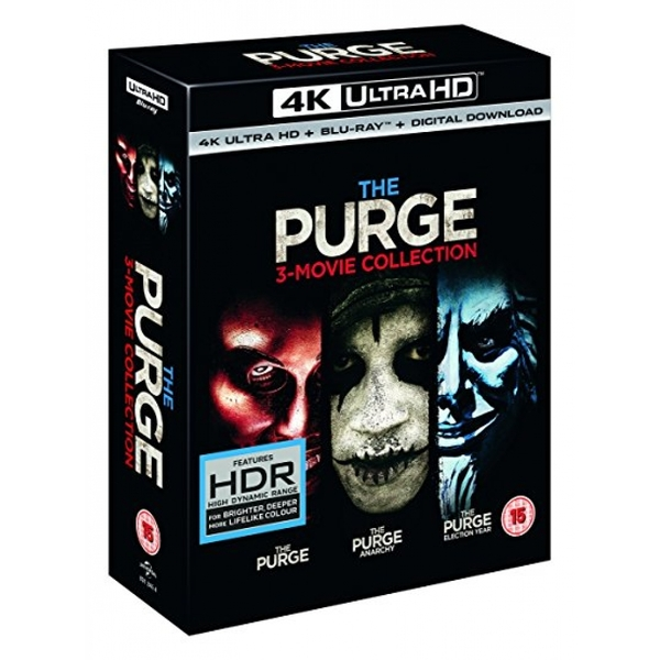 The Purge Trilogy 4K UHD Blu-ray