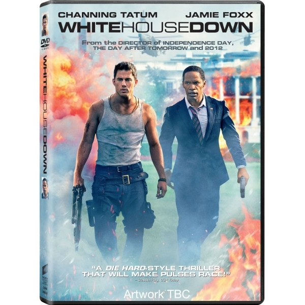 White House Down DVD & UV Copy