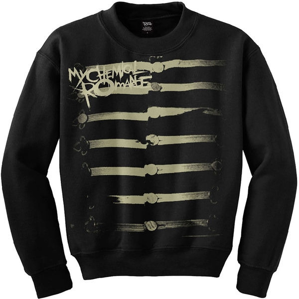 My Chemical Romance - Together We March Unisex Small Sweatshirt - Black
