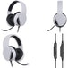 Subsonic White Gaming Headset with Microphone for PS5 - Image 3