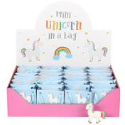 Set of 24 Standing Rainbow Unicorn with Bag