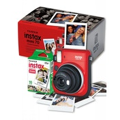 Fujifilm Instax Mini 70 Instant Camera - Red inc 10 Shots