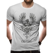 Crimes Of Grindelwald - Phoenix Unisex X-Large T-shirt - White
