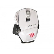 Mad Catz Game Smart R.A.T M Wireless Gaming Mouse (White)