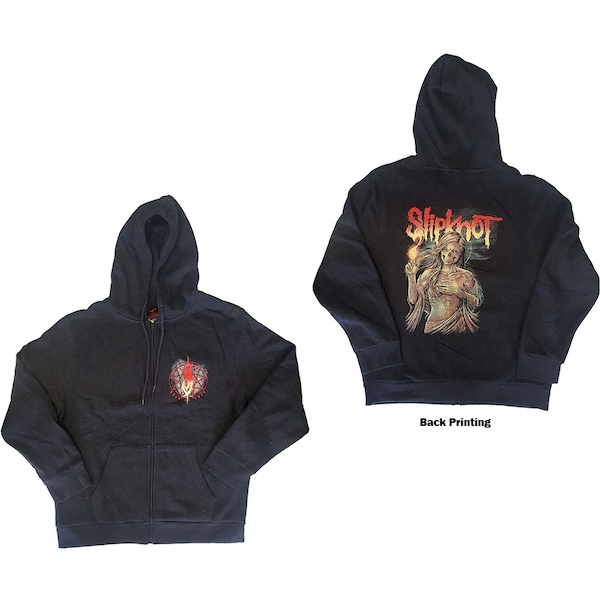 Slipknot - Burn Me Away Unisex X-Large Hoodie - Grey
