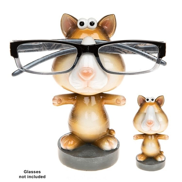 Wobble Head Specs Holder Cat