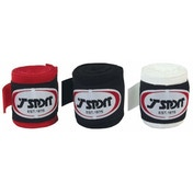 T-Sport 2.55m Hand Wraps Red