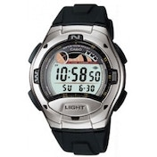 Casio W753-1AV Digital Casual Tide Graph Sports Watch