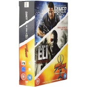 3 Film Collection - Gamer / Snakes on a Plane / Book of Eli DVD