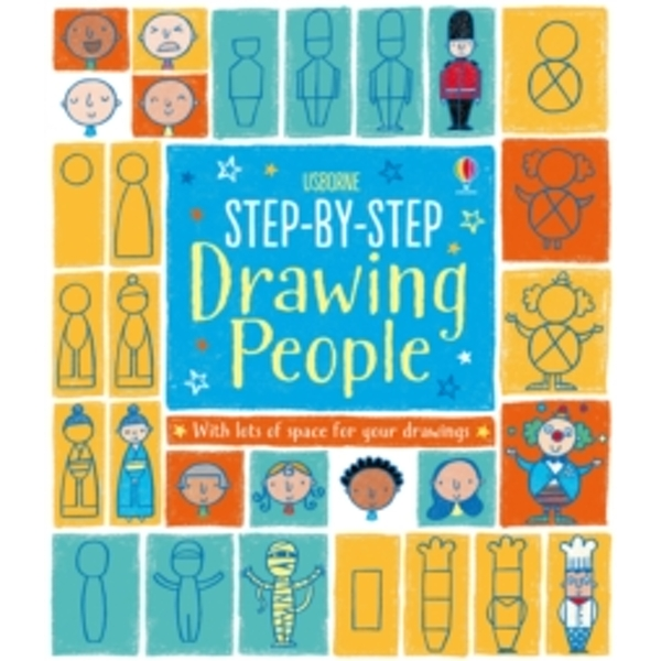 Step-by-Step Drawing Book: People by Usborne Publishing Ltd (Paperback, 2014)