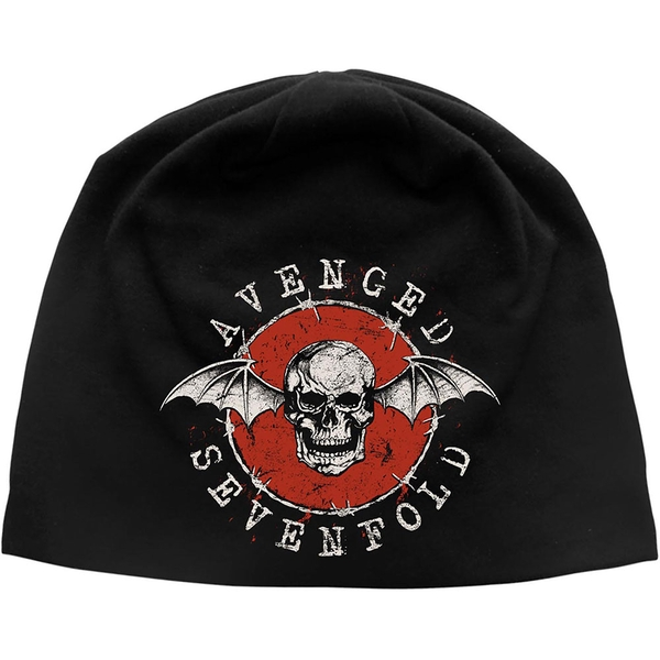 Avenged Sevenfold - Distressed Bat Beanie Hat
