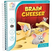 Brain Cheeser Smart Games Puzzle Game Book