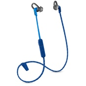 Plantronics Back Beat Fit 305 Wireless Sports Headphones Blue