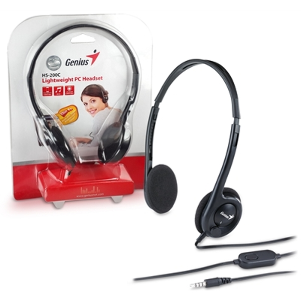 Image of Genius HS-200C Lightweight PC Headset