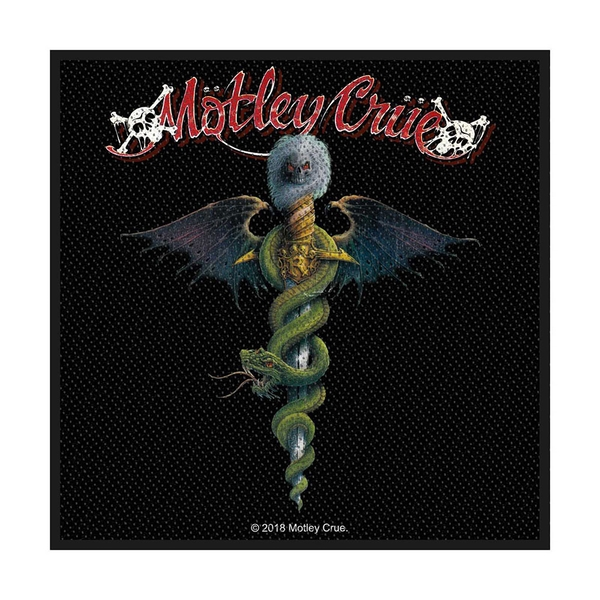 Motley Crue - Dr Feelgood Standard Patch