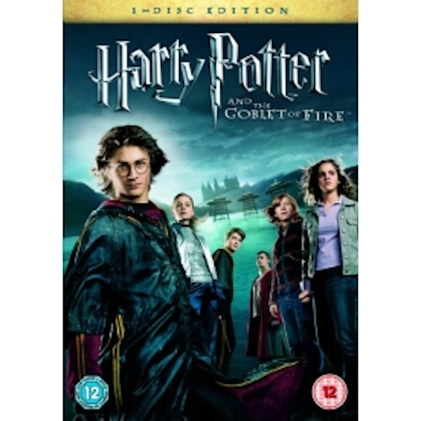 Harry Potter And The Goblet Of Fire (1 Disc) DVD
