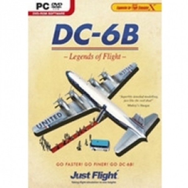 DC-6B Legends of Flight Game PC