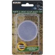 Wizkids Deep Cuts: 50mm Round Base - Clear (10)