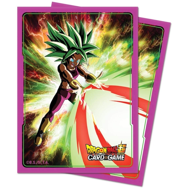 Ultra Pro Dragon Ball Super Standard Deck Protector Sleeves V1 Kefla (65 Sleeves)