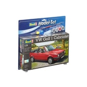 VW Golf 1 Cabrio 1:24 Revell Model Kit