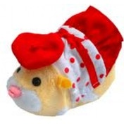 Zhu Zhu Pets Spring Hamster Outfit Polka-Dot Dress and Hat