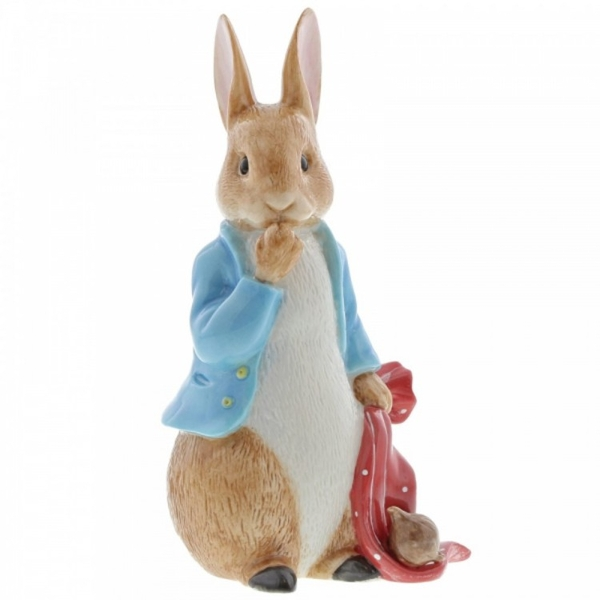 Peter Rabbit and the Pocket Handkerchief Limited Edition Figurine