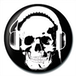 Headphone Skull Badge - Image 2
