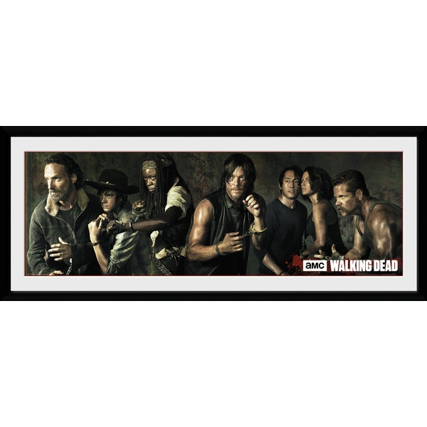 The Walking Dead Survivors Framed Collector Print