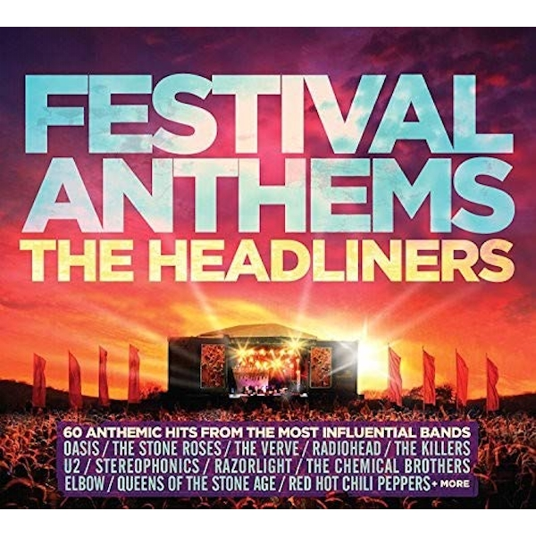 Festival Anthems - The Headliners CD