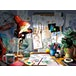 Ravensburger Disney Pixar The Artist's Desk 1000 Piece Jigsaw Puzzle - Image 2