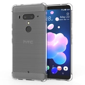 CASEFLEX HTC U12 PLUS CARBON ANTI FALL TPU CASE - CLEAR