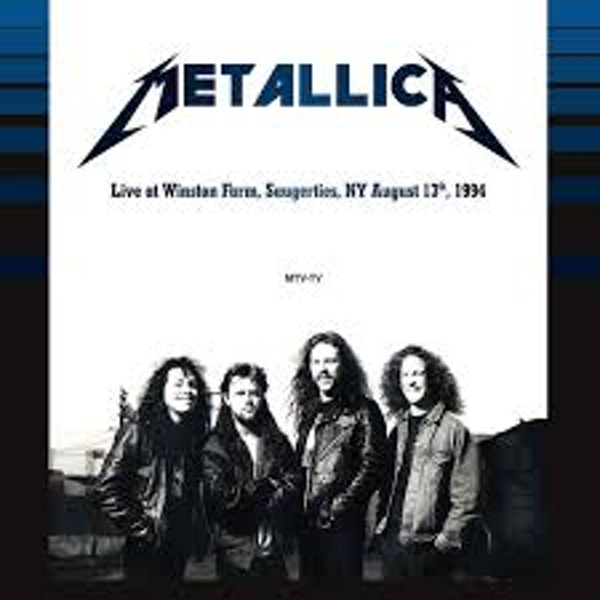 Metallica ‎– Live at Winston Farm, Saugerties, NY August 13th, 1994 Vinyl