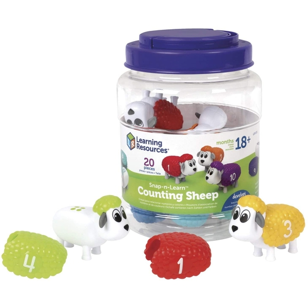 Learning Resources Snap & Learn Counting Sheep