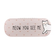 Sass & Belle Cutie Cat Meow You See Me Glasses Case