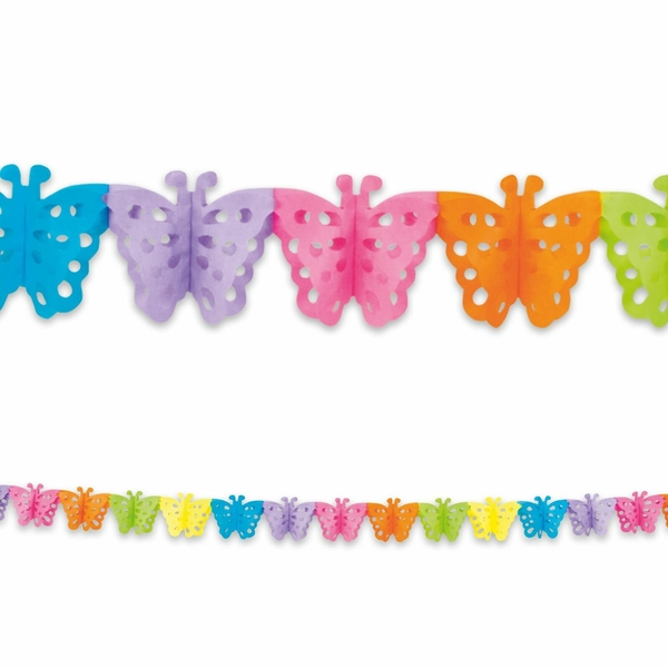 Butterfly Shaped Banner Party Decoration