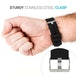Yousave Activity Tracker Strap Single - Black (Small) - Image 5