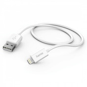 Hama Charging/Sync Cable, Lightning, 1m, White