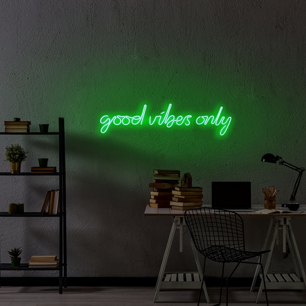 Good Vibes Only - Green Green Wall Lamp