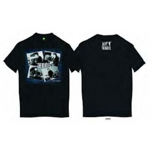 The Beatles At The Cavern Mens Blk T Shirt: X Large